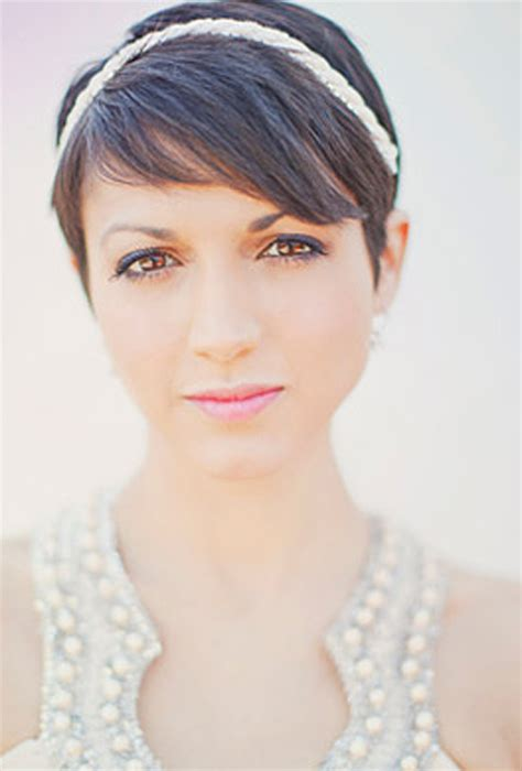 hairstyles with headband for short hair short wedding hairstyle with headband wedding hairstyles