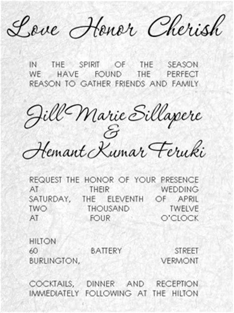 wedding blessing invitations wording wedding invitation wording blessing wedding