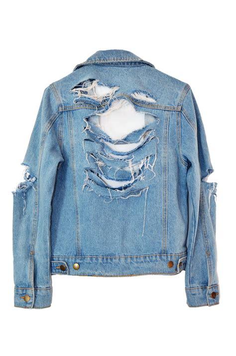 diy denim jacket from how to diy a quot mega shredded quot jacket ramshackle glam