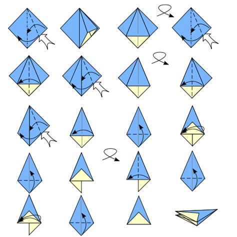 Origami Facts - file origami umbrella base svg wikimedia commons