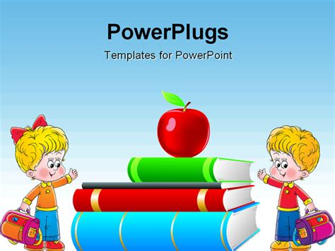 Children S Book Clip Art 45 Children S Book Powerpoint Template