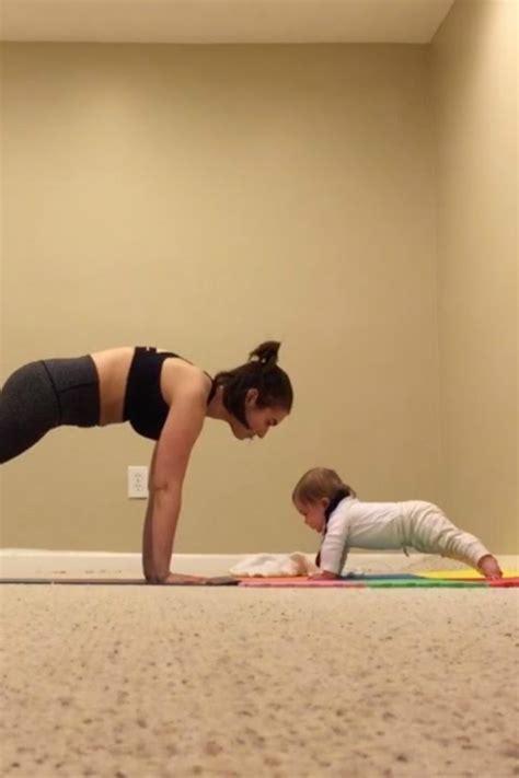 month  loves  yoga  mom