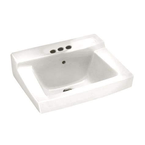 standard bathroom sink american standard declyn wall mounted bathroom sink in white 0321 026 020 the home depot