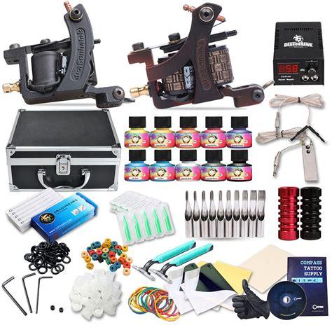 dragonhawk tattoo kit dragonhawk complete kit 2 mate machines 10 color