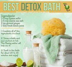 Does Detox Baths Really Work by 1000 Images About Epsom Salts On Detox Baths
