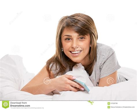 Pleasing A In Bed by Pleasure In The Bed Stock Photo Image 57529799