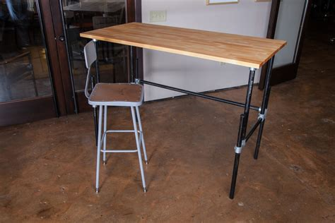 build a standing desk building an adjustable height standing desk video