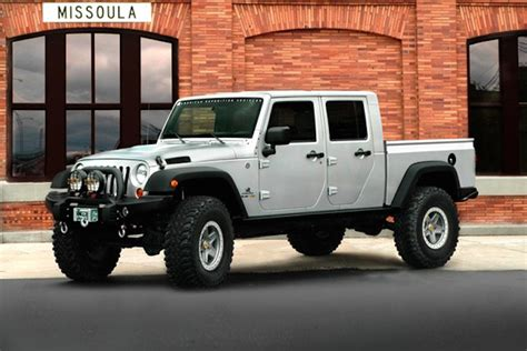 Jeep Truck News Report Jeep In The Works