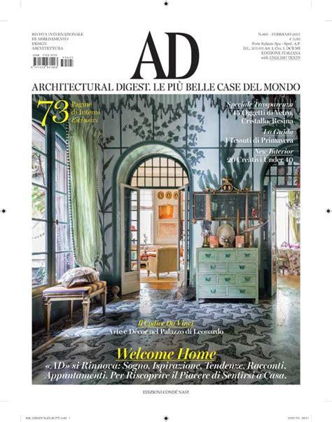 ad rivista di arredamento la rivista ad cambia con farneti pambianco design