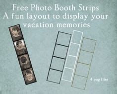 Photo Strip Template And Tutorial Photo Love Pinterest Tutorials And Create Photo Free Photo Booth Template Photoshop