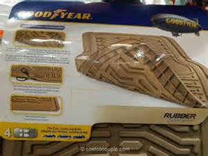 Costco Vehicle Floor Mats Goodyear Heavy Duty Floor Mats