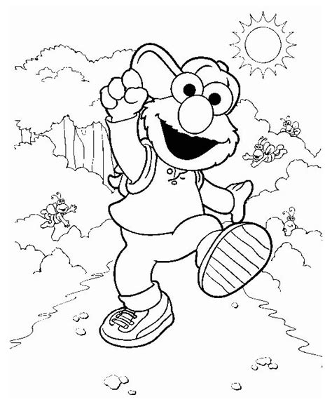 coloring page elmo elmo coloring pages to print coloring pages to print