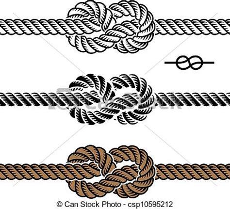 clipart vettoriali clipart vettoriali di corda simboli vettore nero nodo