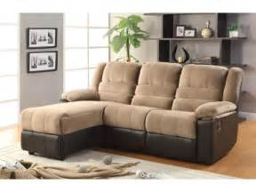 reclining sofa with chaise living room ergonomic 3 recliner with chaise design