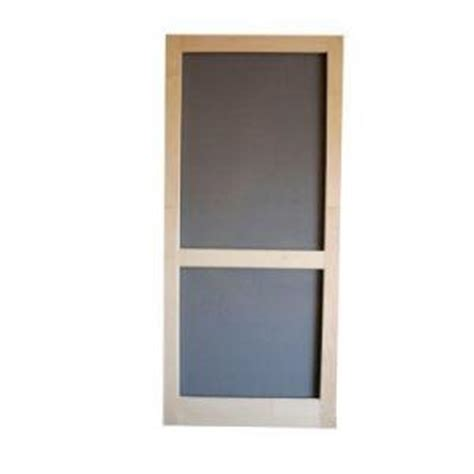 Wooden Screen Doors At Home Depot by Home Depot Screen Tight Woodcraft Summit Wood Screen