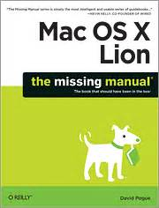 Mac Os X Lion The Missing Manual O Reilly Media