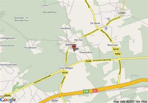 barneveld netherlands map map of tulip inn garderen barneveld