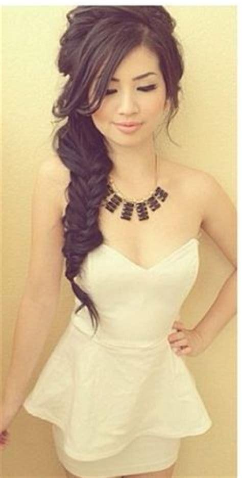 Bridal Hairstyles Side Braid by Side Braid Hairstyles Bridal Asian Hair Search
