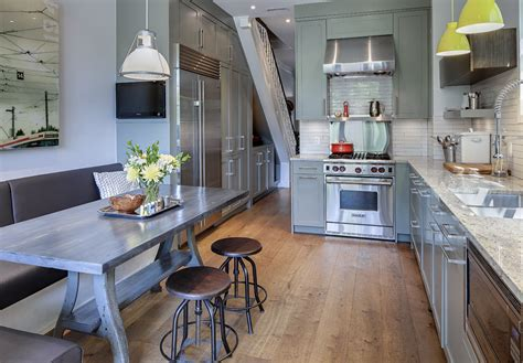 home renovation ideas interior contemporary renovated kitchen in old victorian house