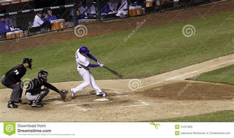 major league baseball swings baseball wrigley field batter swings editorial stock