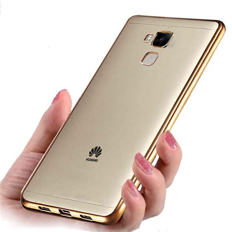 Huawei Honor 4x Soft Cover Casing Silikon Sarung Karet Transparan aliexpress buy honor 5c silicon cover plating clear back cover for huawei