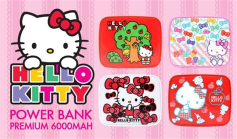 Kondomsilikon Unik Iphone 5 Motif Karakter Kartun power bank motif hellokitty unique 6000mah bursa powerbank