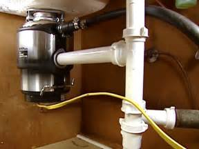 Plumbing A Kitchen Sink With Disposal How To Install A Garbage Disposal How Tos Diy