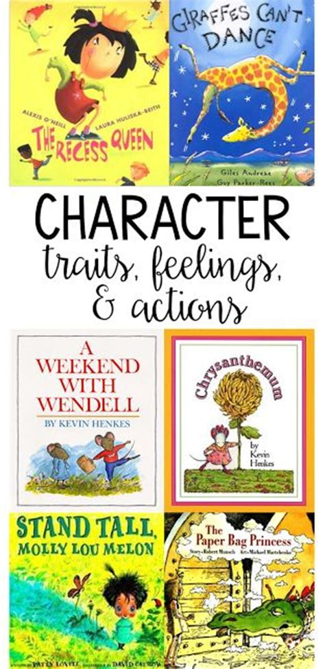 picture books for character traits 1000 ideas about character activities on