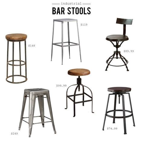 Home Interiors Apple Orchard Collection by Industrial Style Bar Stool Buy A Made Industrial Style