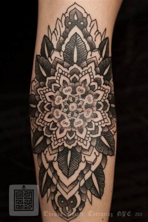 tattoo mayhem nyc a mandala flower tattoo by thomas hooper that celebrates