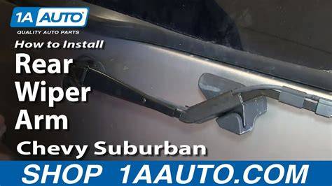 boat windshield rubber stopper how to install replace rear wiper arm 2000 06 chevy