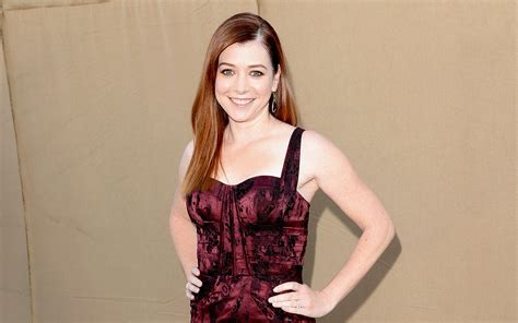 Alyson Hannigan At How I Met Your by How I Met You S Alyson Hannigan We Finally Got To