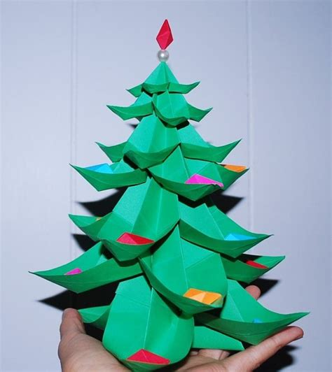 origami tree ornaments 15 best images about 3d origami on origami