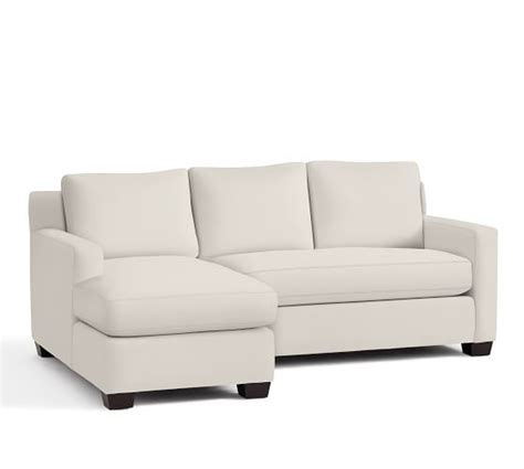 york square arm upholstered sofa with chaise sectional