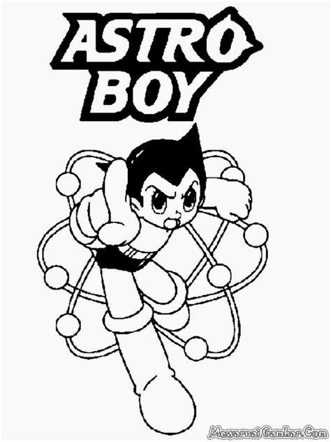Mewarnai Gambar Astro Boy - Mewarnai Gambar