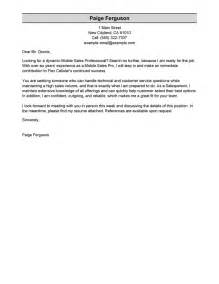 T Format Cover Letter Sle by Free Cover Letter Exles Sles For All Jobseekers