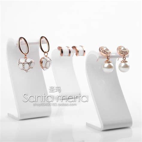 lot of 3 acrylic earring display holder stud earring