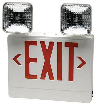 Specialty Bulbs Led Exit Sign W Swivel Lights Led Exit Light Bulbs