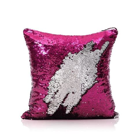 Pillow Co by Pink Silver Mermaid Pillow Mermaid Pillows