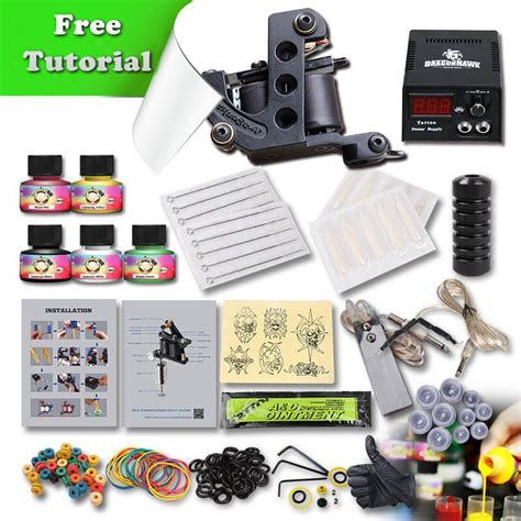starter tattoo kits dragonhawk kit for starter free tutorial 137