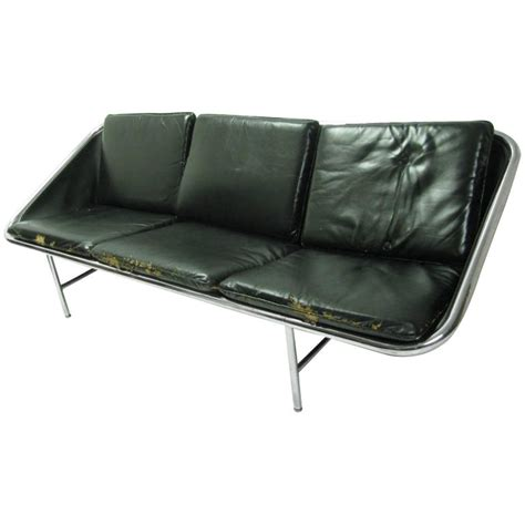 george nelson sling sofa george nelson three seat sling sofa for sale at 1stdibs
