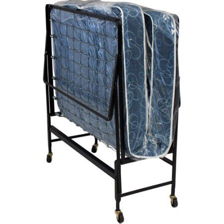 foldable twin bed hollywood rollaway bed spring mattress foldable with wheels twin walmart com