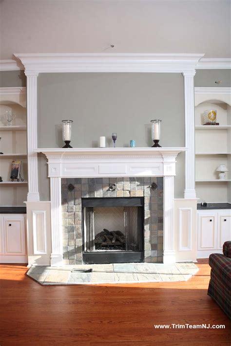 fireplace mantels trim team nj woodwork fireplace