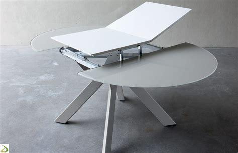 tavolo rotondo allungabile moderno tavolo rotondo allungabile vitrix arredo design