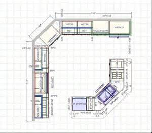 25 best ideas about kitchen cabinet layout on pinterest u shaped kitchen floor plans designcorner