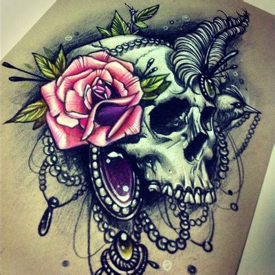 wicked rose tattoos 17 best ideas about sugar skull sleeve on