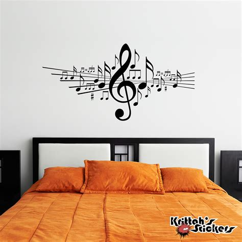 notes wall stickers musical notes vinyl wall decal