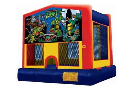 teenage mutant ninja turtles house teenage mutant ninja turtles bounce house rental dallas tx