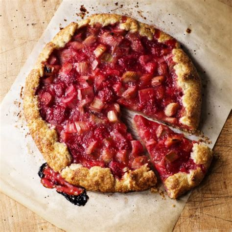 raspberry rhubarb crostata recipes barefoot contessa