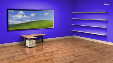 wallpaper computer room room wallpaper and background image 1366x768 id 485213